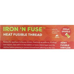 Iron N Fuse 40wt Fusible Nylon 183m