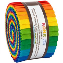 KONA SOLIDS - BRIGHT RAINBOW