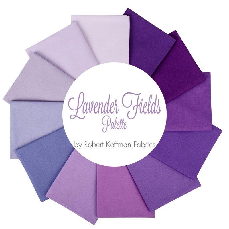 Kona Cotton Lavender Fields 12ks