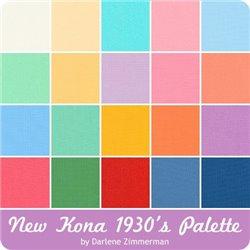 KONA SOLIDS - 1930'S  PALETTE