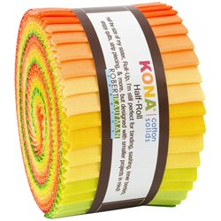 KONA SOLIDS - CITRUS FRUIT-24 ks